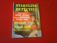 Vintage Real Crime Detective Magazine Startling Detective Jan. 1962          ZZ