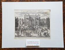 XVII ème - Superbe Gravure Les Plus Beaux Endroits de Versailles PL 84 de 1670