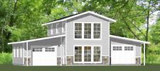 44x28 House -- 602 sq ft -- PDF Floor Plan -- Model 1C