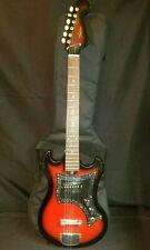 Telestar Electric Guitar Red Sunburst with Stagg Gig Bag