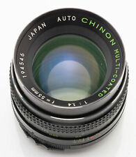 Auto Chinon Multi-Coated 55mm 55 mm 1:1.4 1.4 - M42 M 42 Anschluss - DEFEKT