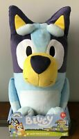"Bluey Best Mate 18"" Jumbo Stuffed Plush Toy Disney Junior Genuine Moose Toys New"