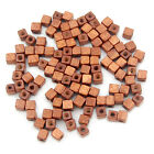 Wholesale Lots Wood Spacer Loose Wooden Craft DIY Jewelry Cube Beads 5mm 5x5x5mm