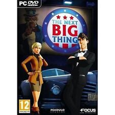 The Next Big Thing [PC-DVD Computer, Region Free, Point-click Adventure] NEW