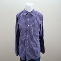 Mens Vineyard Vines Tucker Shirt Purple Long Sleeve Button Up Shirt Size Large