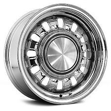 """Ford Falcon GT 12 Slot Wheels- USA MADE- 14x7/8- INC CAPS- AVAILABLE IN 15"""" ALSO"""