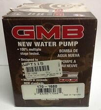 NEW TOYOTA TERCEL/PASEO GMB Water Pump 16110-19065-84