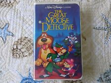 The Great Mouse Detective (VHS, 1992) DISNEY BLACK DIAMOND CLASSIC HTF RARE