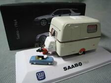 1:43 ATLAS SAAB O 1964 motor homes DieCast Model TOY Vehicles Car toy