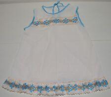 Vêtement enfant ancienne robe légère été vintage 70'S 4 ans