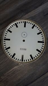 RFT 1/1s Zifferblatt Sekundenpendeluhr HU22 Hauptuhr Mutteruhr  Sekundenpendel