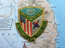 United Nations Joint Security Area DMZ Korea , in front of them all , Patch