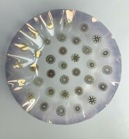 "Ruffled Edge Mid Century Sinclair Glama Glass Bowl Dish 12.5"" Dorothy Thorpe"