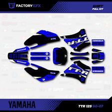 Black Shift Racing Graphics Kit fit 00-07 YAMAHA TTR125 Sticker Decal TTR 125