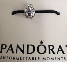 PANDORA Spotted Spotty Head Penguin Charm 790423 BOX INCLUDED