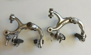 Galli Criterium Brakes Pair USED but in functional condition Silver