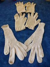 les gants anciens pour fillette ou grande poupée
