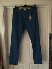 Twisted Soul Jeans NWT in Blue Men's Size 34/34 Slim Fit Stretchy Cobalt Blue