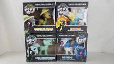 My Little Pony Funko Collectible Vinyl Figures BUNDLE ! LYRA, Spitfire, DJ PON
