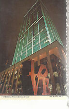 Indiana National Bank Tower  Indianapolis  IN  Mailed 1988 Chrome Postcard 267b