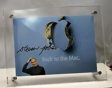 Steve Jobs Signed Print Beautifully Framed For Your Desk    - ships worldwide!