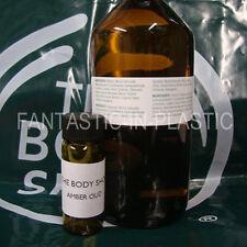 The Body Shop AMBER OUD perfume oil 6ml RARE!