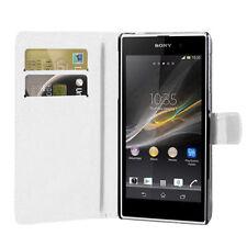 Etui für Sony Xperia L Handy in Weiß