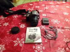 Canon EOS Rebel XT  350D Silver 8.0 MP Digital Camera w/ lense,charger,battery