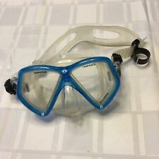U.S. Divers Scuba Snorkeling Mask Goggles Adult Tempered Glass Adjustable