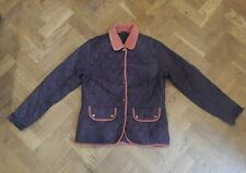Barbour Womens Purple Quilted Jacket Coat UK Size 14