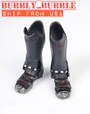 1/6 Avengers Falcon Tactical Military Combat Boots For Hot Toys Male Figure USA