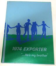 1974  BRAZOSPORT HIGH SCHOOL YEARBOOK / THE EXPORTER .... LQQK