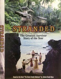 Stranded DVD 2002 Survival Movie Adventure - Liam Cunningham, Roger Allam RARE