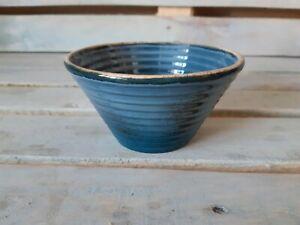 Blu Reattivo Porcelain Salad Bowl, Made in Russia, Blue 350 ml