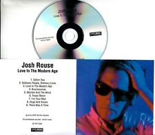JOSH ROUSE Love In The Modern Age 2018 UK 9-trk promo test CD