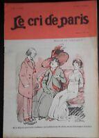 Rivista Il Cree Di Parigi N° 694 Casa Di Trust 1910 ABE
