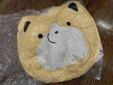 Taito Tarushiba Taru Shiba Inu Dog 40cm Tan Face Cushion Stuffed Toreba Japan