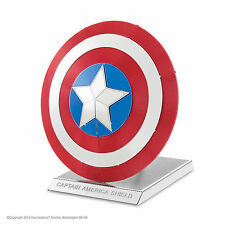 Metal Earth 3D Laser Cut Steel Model Kit Marvel Capitain America's Shield Gift 1