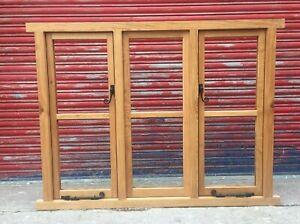 Traditional Solid Oak Triple Casement Windows!!! Made To Measure!!! Bespoke!!!