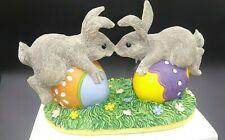 Sylvestri Charming Tails Bunny Love Bunny Bunnies Rabbit Figurine 87/424 Mib