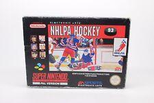 NHLPA HOCKEY '93  SUPER NINTENDO SNES PAL