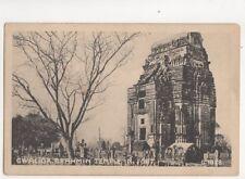 Gwalior Brahmin Temple In Fort India Vintage Postcard Macropolo 228b