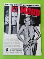 "Vintage Danish Film Program. ""Et mord"" Karin Ekelund.Edvin Adolphson.Sweden."