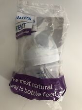 NEW Philips Avent 4oz 125ml Baby Bottle With Cover