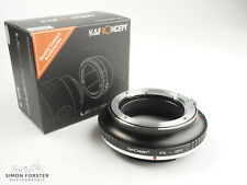 K&F Concept PK to GFX Adapter Pentax K to Fuji GFX Adapter UK Stock