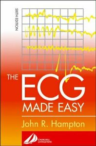 The ECG Made Easy by Hampton Dr., Jo Paperback Book The Cheap Fast Free Post