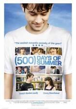 500 DAYS OF SUMMER Movie Promo POSTER Finnish Zooey Deschanel