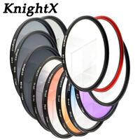 KnightX CPL Polarizer UV ND Camera Lens filter 49mm 52mm 55mm 58mm 67mm 77mm