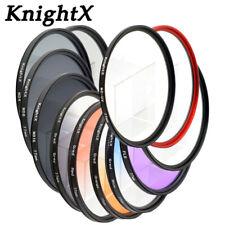 KnightX CPL Polarizer UV ND Variable Camera Lens Filter 52mm 55mm 58mm 67mm 77mm