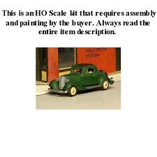 HO SCALE: NEW RELEASE - 1934 CHEVROLET 3 WINDOW COUPE - SYLVAN KIT V-235